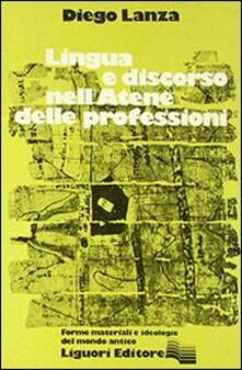 Premioquesti.it Lingua e discorso nell'Atene delle professioni Image