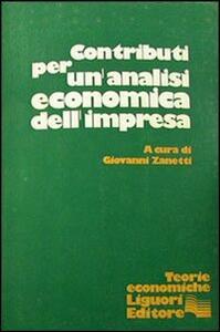Contributi per un'analisi economica dell'impresa