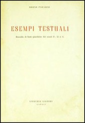 Esempi testuali (raccolta di fonti giuridiche dei secoli II-XI d. C.)