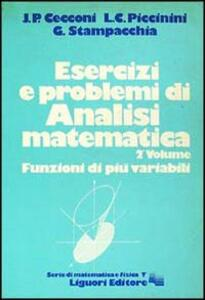Esercizi e problemi di analisi matematica. Vol. 2