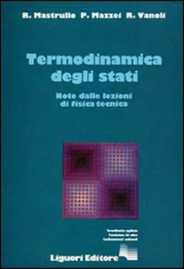 Libro Termodinamica degli stati Rita M. Mastrullo , Pietro Mazzei , Raffaele Vanoli