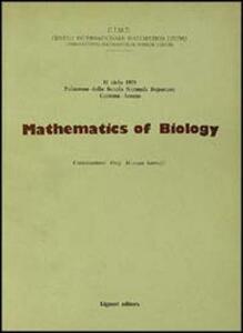 Mathematics of biology