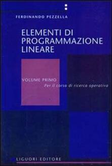 Elementi di programmazione lineare. Vol. 1.pdf