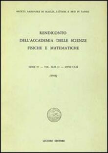 Equilibrifestival.it Rendiconto dell'Accademia delle scienze fisiche e matematiche. Serie IV. Vol. 49: Anno 1982. Image