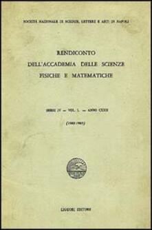 Promoartpalermo.it Rendiconto dell'Accademia delle scienze fisiche e matematiche. Serie IV. Vol. 50: Anno 1982-1983. Image
