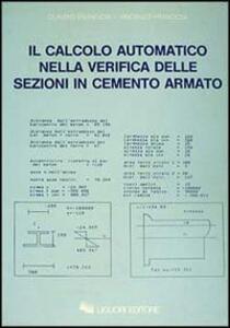 Il calcolo automatico nella verifica delle sezioni di cemento armato