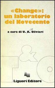 Libro Change: un laboratorio del Novecento
