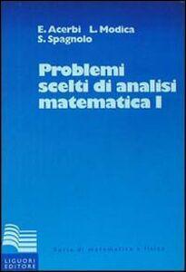 Foto Cover di Problemi scelti di analisi matematica. Vol. 1, Libro di AA.VV edito da Liguori