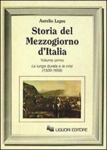 Tegliowinterrun.it Storia del Mezzogiorno d'Italia. Vol. 1 Image