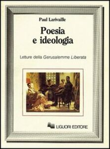 Libro Poesia e ideologia Paul Larivaille