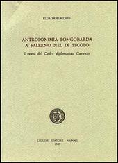 Antroponimia longobarda e Salerno nel IX secolo
