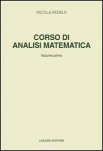 Corso di analisi matematica. Vol. 1