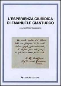 L' esperienza giuridica di Emanuele Gianturco