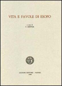 Libro Vita e favole di Esopo
