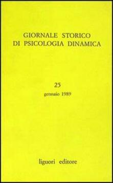 Chievoveronavalpo.it Giornale storico di psicologia dinamica. Vol. 25 Image