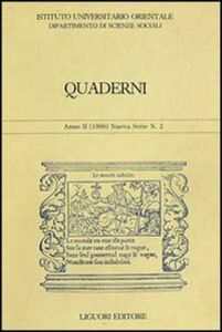 Libro Quaderni. Vol. 2
