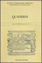 Quaderni. Vol. 2