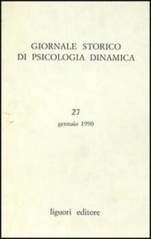 Camfeed.it Giornale storico di psicologia dinamica. Vol. 27 Image
