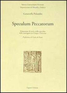Libro Speculum peccatorum. Frammenti di storia nello specchio delle immagini tra Cinque e Seicento Genoveffa Palumbo