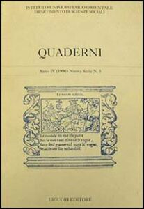 Foto Cover di Quaderni. Vol. 5, Libro di  edito da Liguori