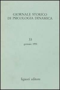 Giornale storico di psicologia dinamica. Vol. 33