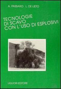 Tecnologie di scavo con l'uso di esplosivi