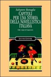 Capitoli per una storia della novellistica italiana. Dalle origini al Cinquecento