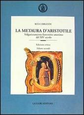 La metaura d'Aristotile. Volgarizzamento fiorentino anonimo del XIV secolo. Ediz. critica
