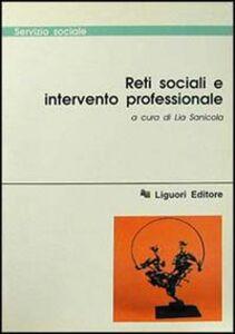 Libro Reti sociali e intervento professionale