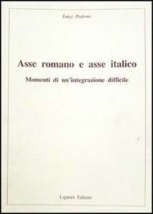 Asse romano e asse italico. Momenti di un'integrazione difficile
