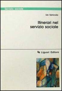 Libro Itinerari nel servizio sociale Lia Sanicola