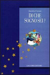 Libro Di che sogno sei? Con CD Audio Amedeo Caruso