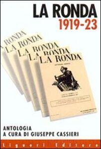 Foto Cover di La ronda 1919-1923, Libro di  edito da Liguori