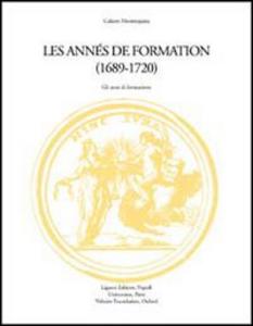 Libro Montesquieu: les années de formation (1689-1720). Actes du Colloque (Grenoble, 26-27 septembre 1996)