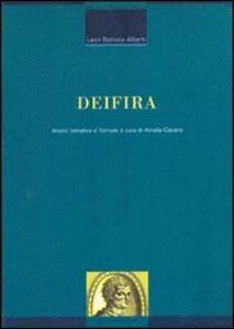 Libro Deifira. Analisi tematica e formale Leon Battista Alberti
