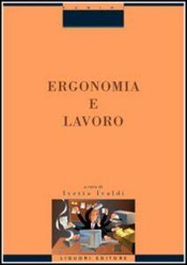 Libro Ergonomia e lavoro
