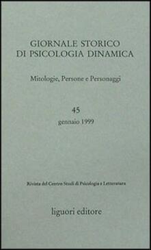 Voluntariadobaleares2014.es Giornale storico di psicologia dinamica. Vol. 45 Image