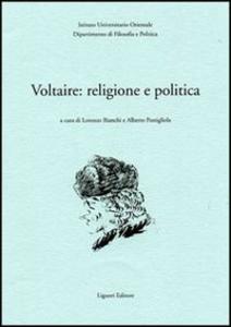 Libro Voltaire: religione e politica