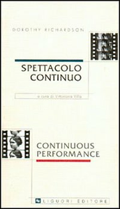 Libro Spettacolo continuo-Continuons performance Dorothy Richardson