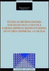 Studio di microeconomia stilizzato sulla piccola e media impresa manifatturiera di un'area depressa: la Sicilia