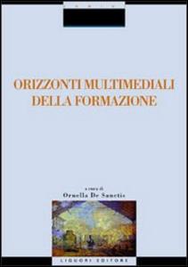 Libro Orizzonti multimediali della formazione