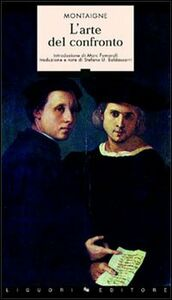 Libro L' arte del confronto Michel de Montaigne