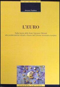 Libro L' euro. Dalla teoria delle aree valutarie ottimali alle problematiche attuali e future dell'unione monetaria europea Antonio Pedalino
