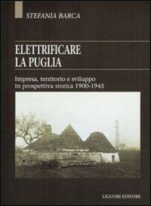 Libro Elettrificare la Puglia. Impresa, territorio e sviluppo in prospettiva storica 1900-1945 Stefania Barca