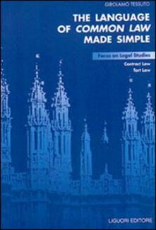 Amatigota.it The language of common law made simple. Focus on legal studies, contract law, tort law Image