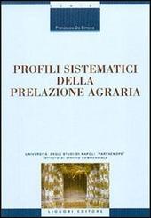 Profili sistematici della prelazione agraria