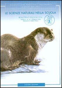 Foto Cover di Le scienze naturali nella scuola, Libro di Sofia Sica,Luigi D'Amico, edito da Liguori