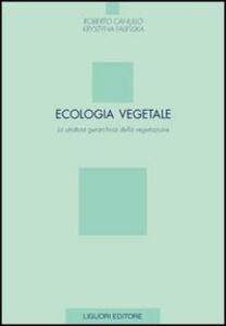Ecologia vegetale. La struttura gerarchica della vegetazione