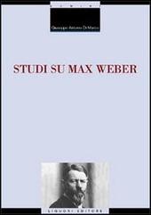 Studi su Max Weber