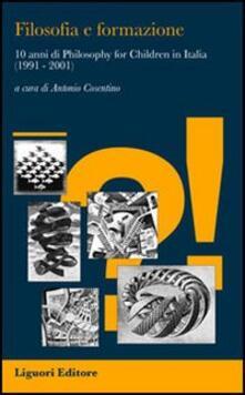Tegliowinterrun.it Filosofia e formazione. 10 anni di «philosophy for children» in Italia (1991-2001) Image